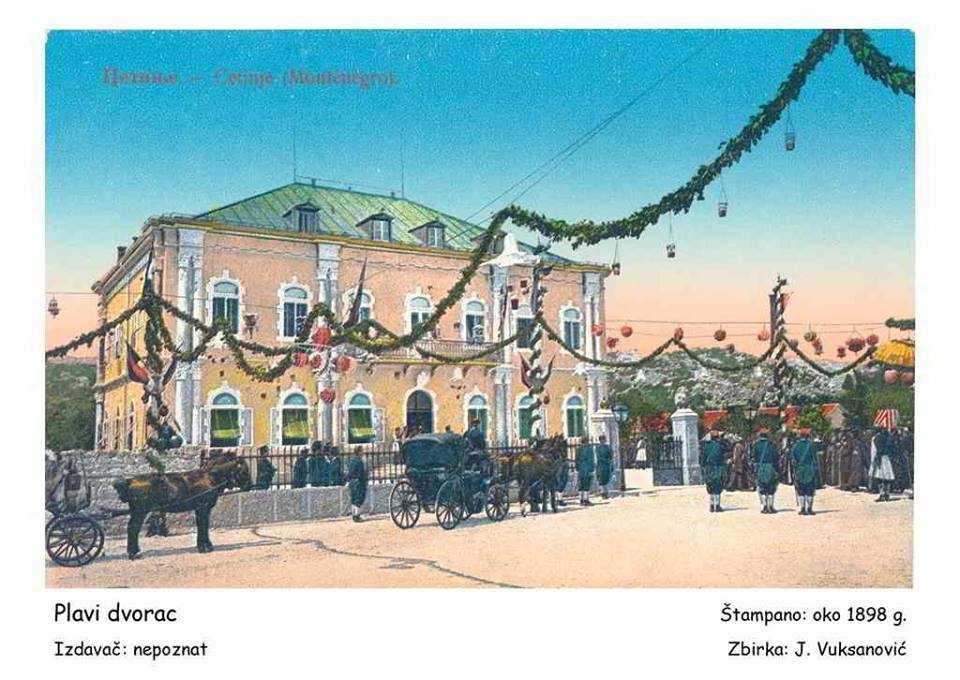 Cetinje na starim razglednicama