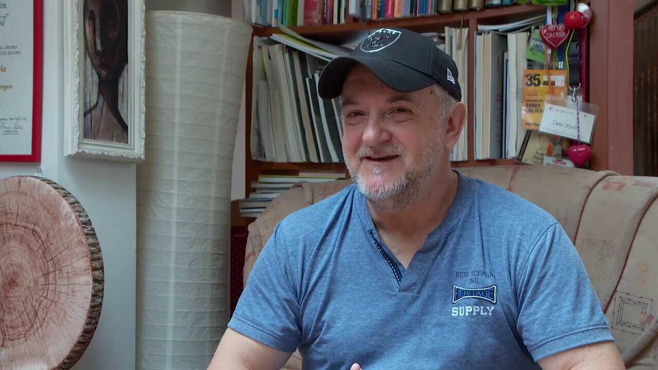 Karikaturista Darko Drljević - intervju