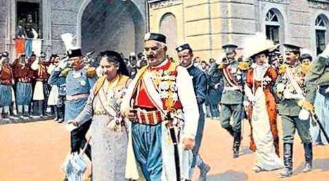 Svečanosti povodom proglašenja Crne Gore za kraljevinu