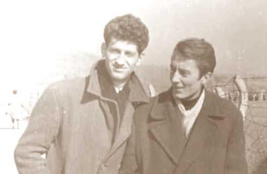Danilo Kiš i Pavle Đonović
