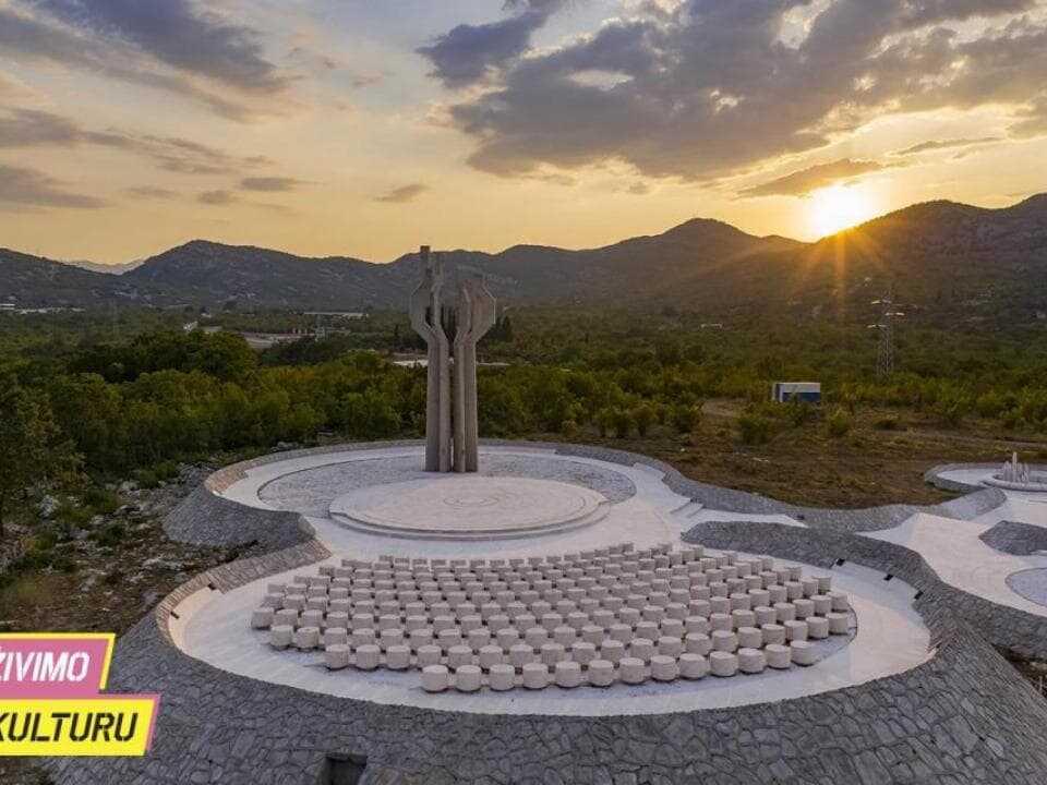 Svetlana Kana Radević - spomenik na Barutani