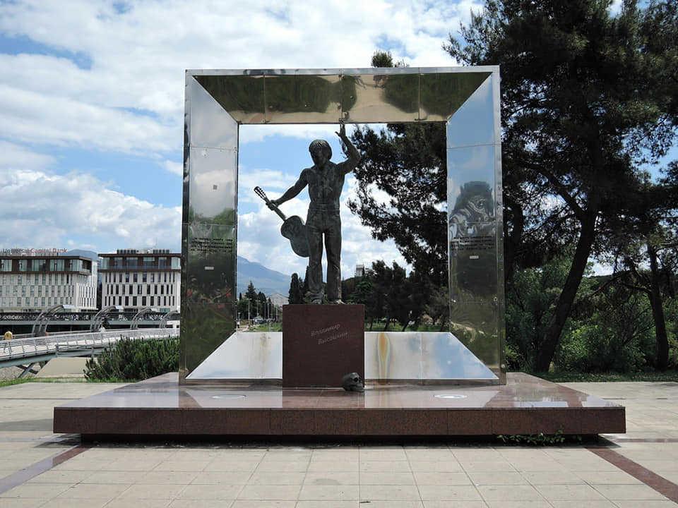 Spomenik Vladimira Visockog u Podgorici
