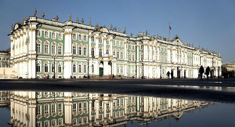Muzej Ermitaž - Sankt Peterburg