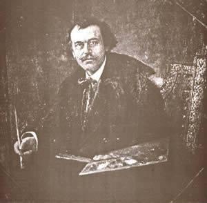 Anastas Bocarić (1864-1944) akademski slikar