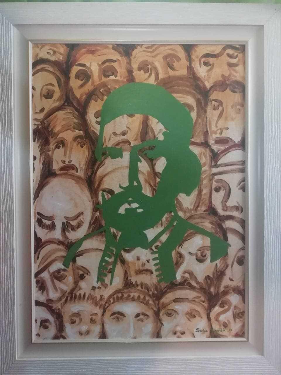 Saša Radišić - Carev Laz, akrilik na platnu, 2013. cijena 500€
