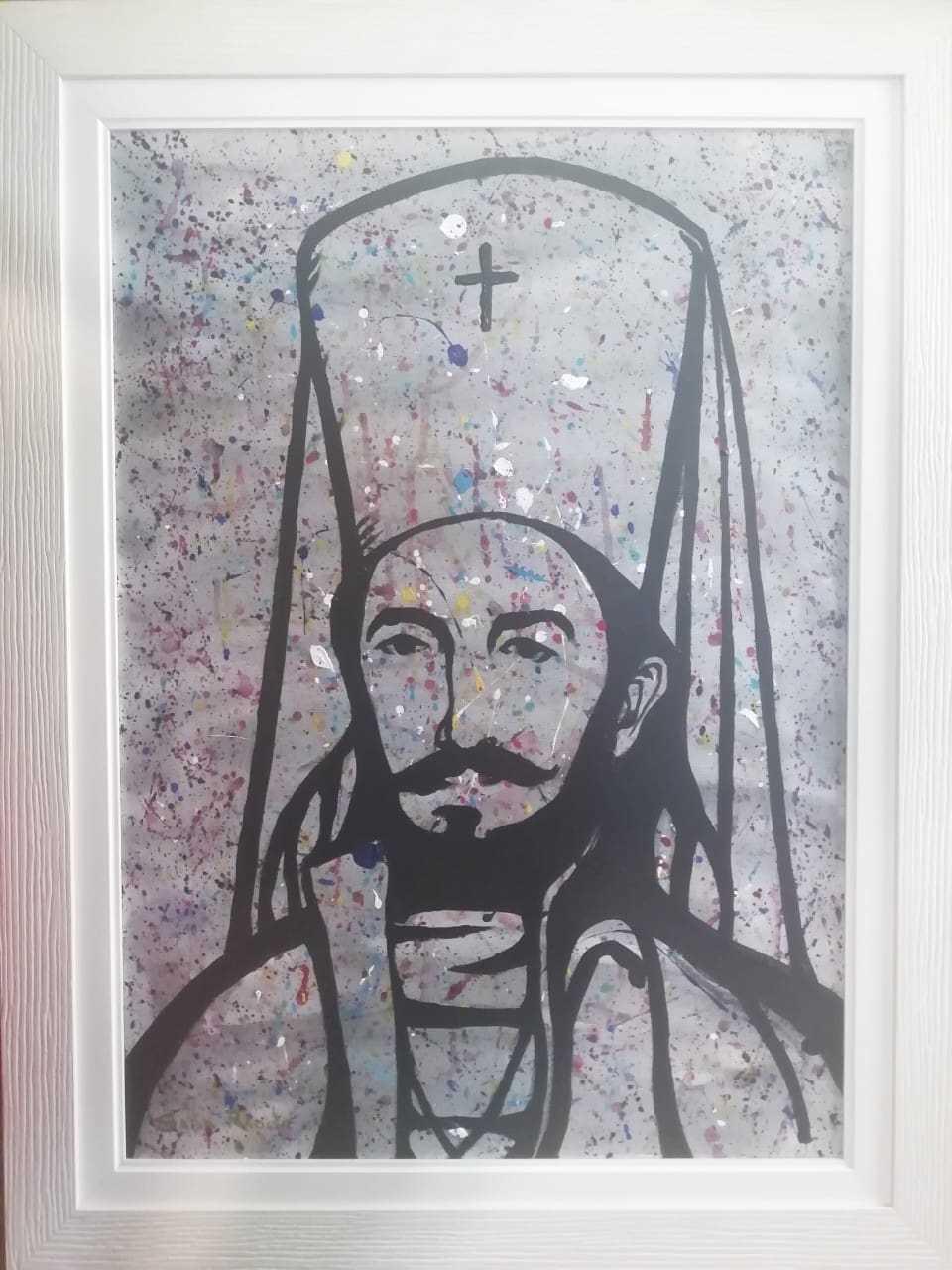 Saša Radišić - Luča, akrilik na platnu, 2013. cijena 500€