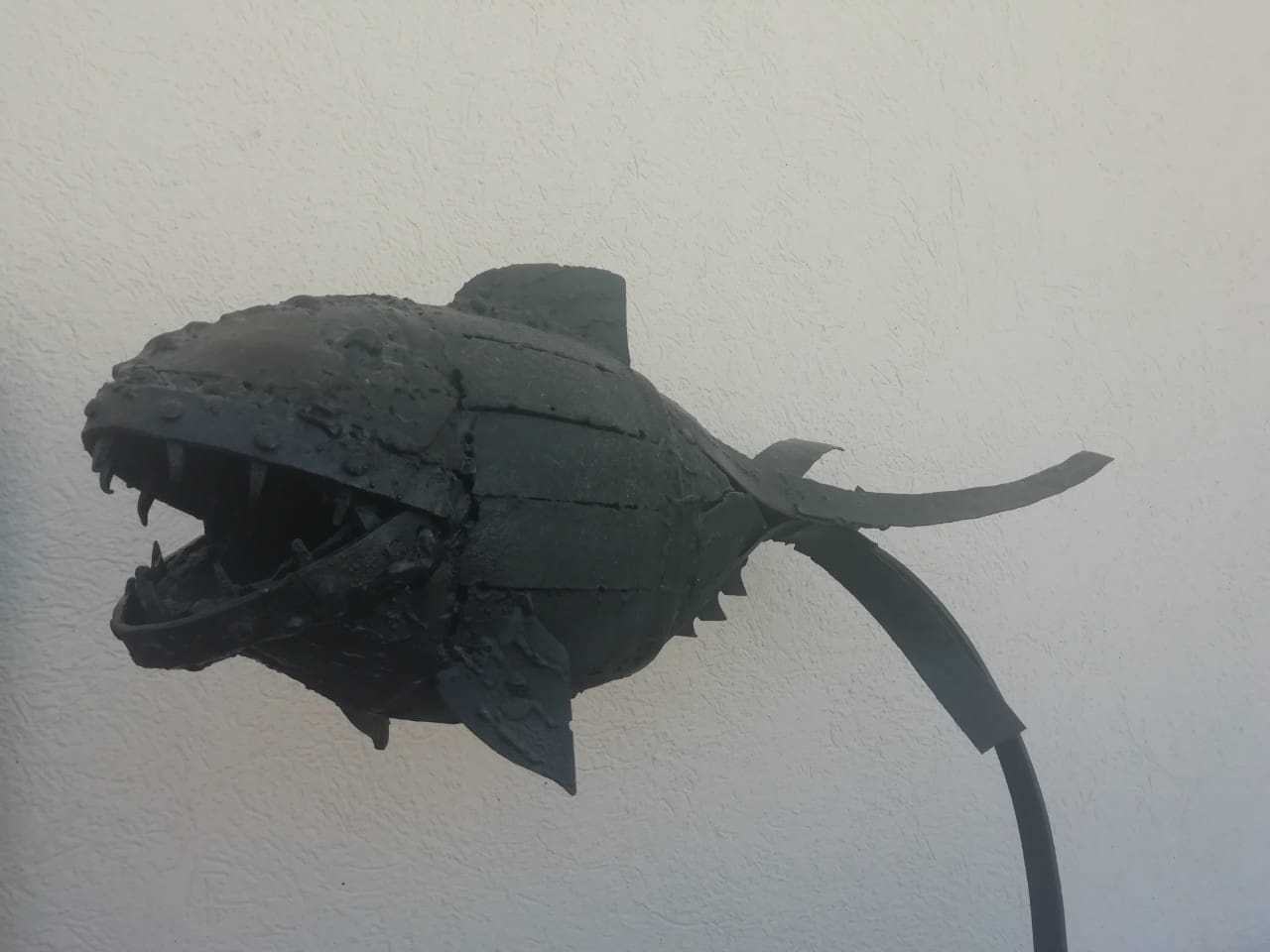 Saša Radišić - Riba - skulptura, 2011. cijena 800€