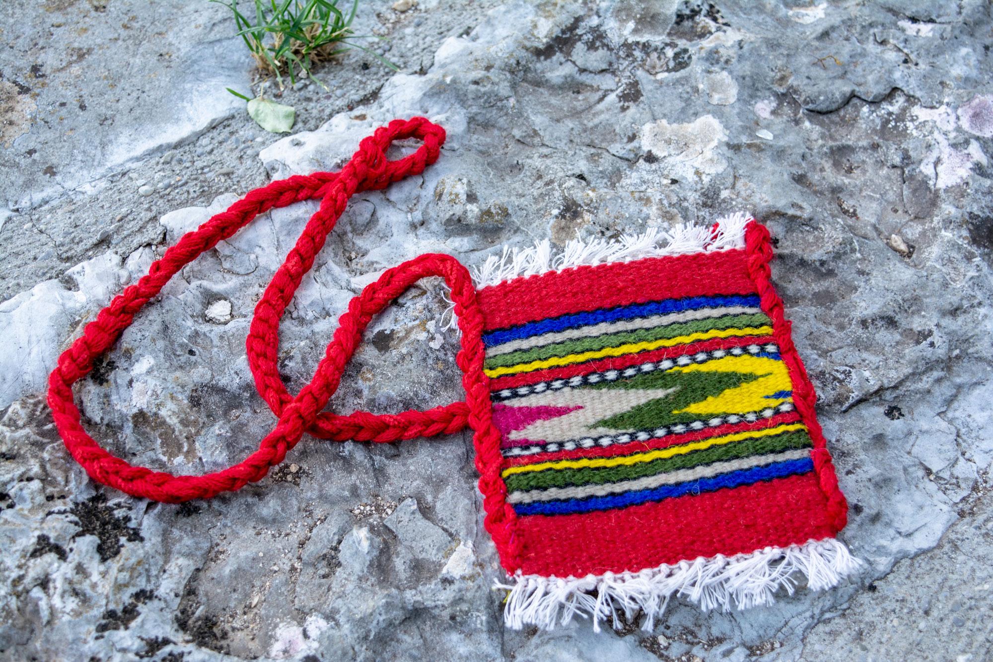 Torba od prirodne vune - ručni rad