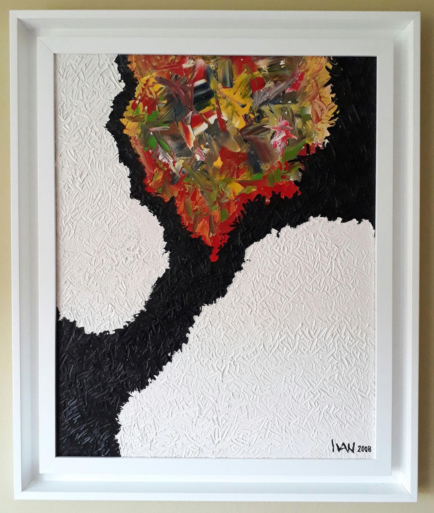 Ivan Jovović,  naziv: Drvo života, ulje na platnu,  50x40, 2008. Cijena: 180€