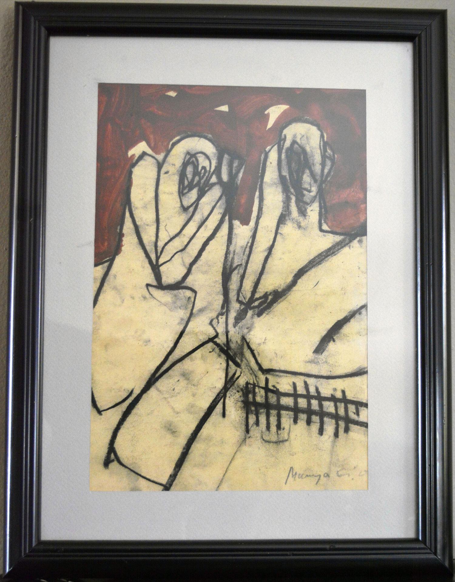 Marija Gužvica,   bez naziva, 20x30, 2002. Cijena: 250€