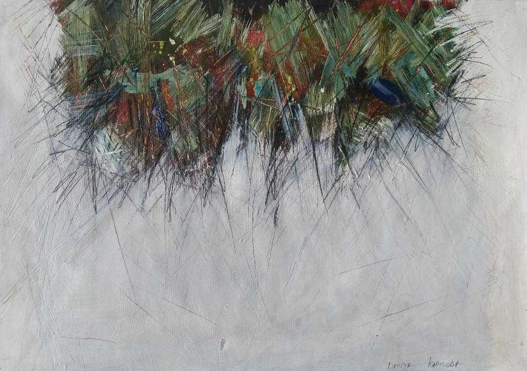 Marija Kapisoda - crtež, 2017. cijena 300€